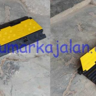 Speed Bump with Cable Protector